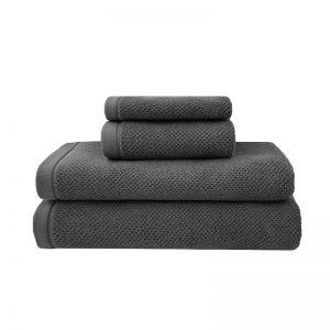 Angove Bath Towel Range | Charcoal