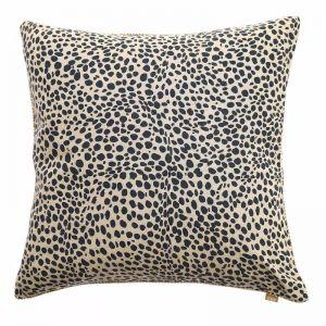Animal Print Cushion | Navy