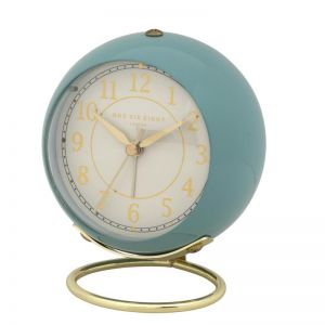 Anna Alarm Clock | 13cm | Silent | Duck Egg Blue | One Six Eight London