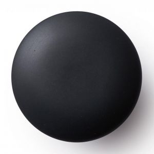 Anne Black Matte Knobs and Hooks | Black | Various Sizes