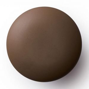 Anne Black Matte Knobs and Hooks | Brown | Various Sizes