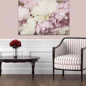 Antique Floral   Canvas Artwork   Various Sizes