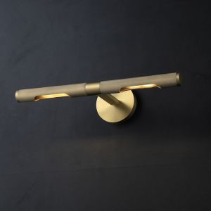 ANVERS Picture Light Wall Sconce Replica - Brass/Black