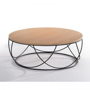 Anya Round Coffee Table | 80cm | Natural