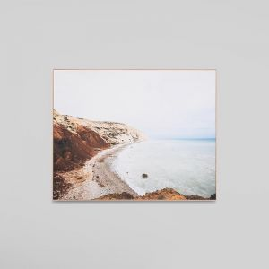 Aphrodite's Cove | Framed Photographic Canvas Print | by Matthew Thomas