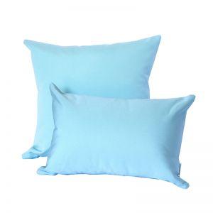 Aqua Blue   Sunbrella Fade and Water Resistant Outdoor Cushion   Outdoor Interiors