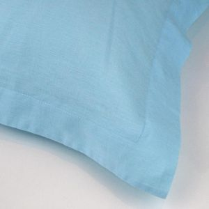 Aqua Linen Pillowcases | Various sizes by Siroccostyle