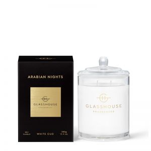 Arabian Nights White Oud 380g Soy Candle