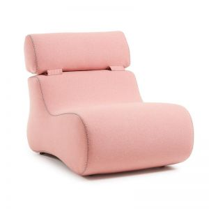 Arbor Upholstered Armchair | Blush Pink