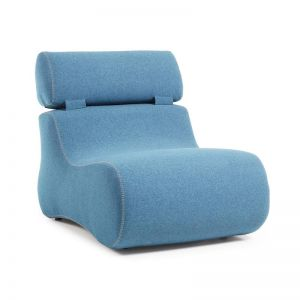 Arbor Upholstered Armchair | Dark Blue