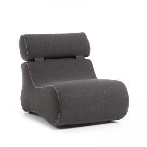 Arbor Upholstered Armchair | Graphite