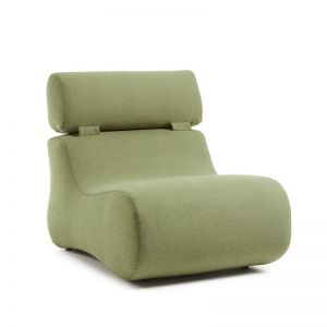 Arbor Upholstered Armchair | Olive Green