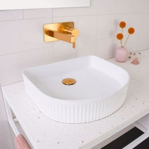 Arch Fluted Above Counter Basin