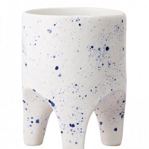 Arched Leg Planter by Angus & Celeste   Blue Crystal