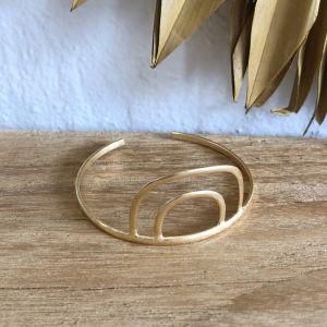 Arcus Bracelet Cuff Gold