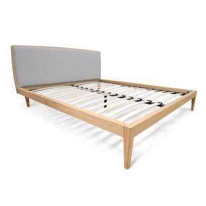 Ariane King Sized Bed Frame | Natural Oak | Interior Secrets