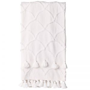 Ariel Throw | Ivory | BY SEA TRIBE