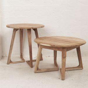 *Arlin Round Coffee Table 54cm - delivery Oct/Nov 2019