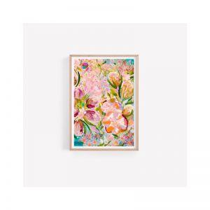 Arlo Unframed Fine Art Print | Native Flowers Banksia