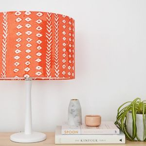 Arrows | Coral Lampshade