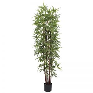 Artificial Bamboo Plant Dark Trunk | Potted | 180cm