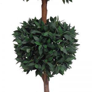 Artificial Bayleaf Ficus Tree | 2 Balls | 1.82m