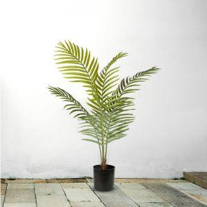 Artificial Indoor Rogue Areca Palm Tree | 120cm Green