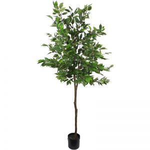 Artificial Potted Ficus Tree