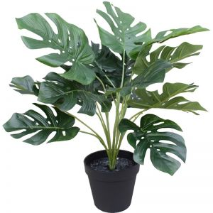 Artificial Potted Split Philodendron (Monstera) 40cm