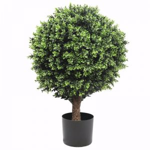 Artificial Topiary Shrub | Hedyotis | UV Resistant | 80cm