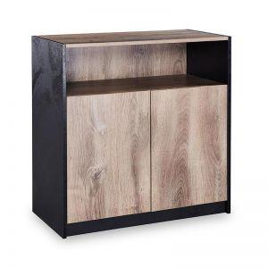 Arto Credenza Cabinet Small | 80cm | Mahogany