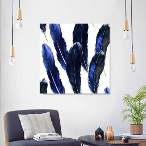 As Light As A Feather | Canvas Wall Art by Beach Lane