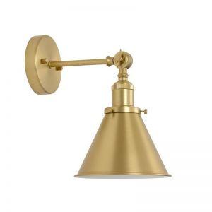 Ascot 1 Light Wall Bracket in Brass | Beacon Lighting
