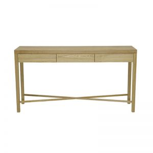 Ascot Cross Console | Natural Ash