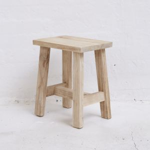 Asha Rectangular Stool and Side Table | Pre Order