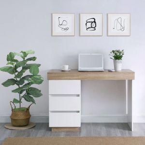 Ashley Coastal White Wooden Office Desk