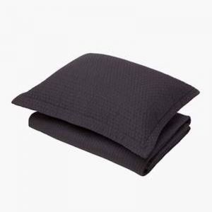 Aspen Charcoal Pillowcase | Standard