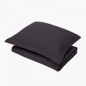 Aspen Charcoal Quilt   Queen Bed