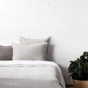 Aspen Flax Quilt   Queen Bed