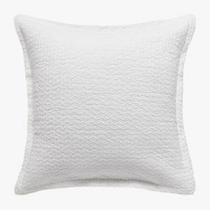 Aspen White Pillowcase | European
