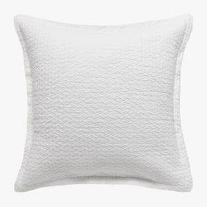 Aspen White Pillowcase | European