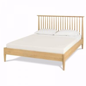 Asta Low Spindle Wooden Bed Base | Queen