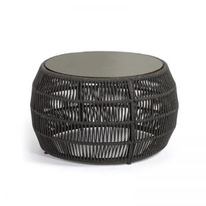 Asterick Patio Coffee Table | Charcoal | CLU Living
