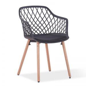 Atalia Arm Chair | Black