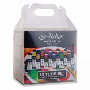 Atelier Interactive Acrylic Paint Set | 12 x 20ml Tubes