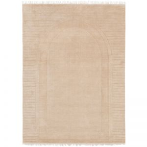Athena Arched Weave Rug   Biscuit   by Ground Control
