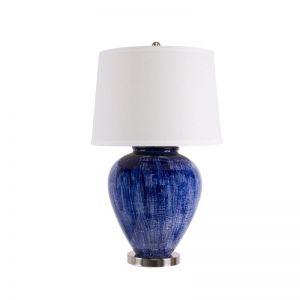Athena Dark Blue Table Lamp | by Dasch Design