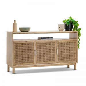 Atlanta Rattan & Mindi Wood Sideboard Buffet