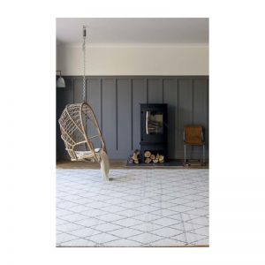 Atlas Berber Knot Rug | Natural | Various Sizes