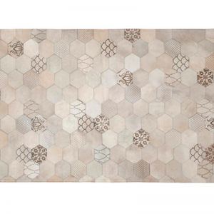 Atomo Rug by Art Hide | Cream